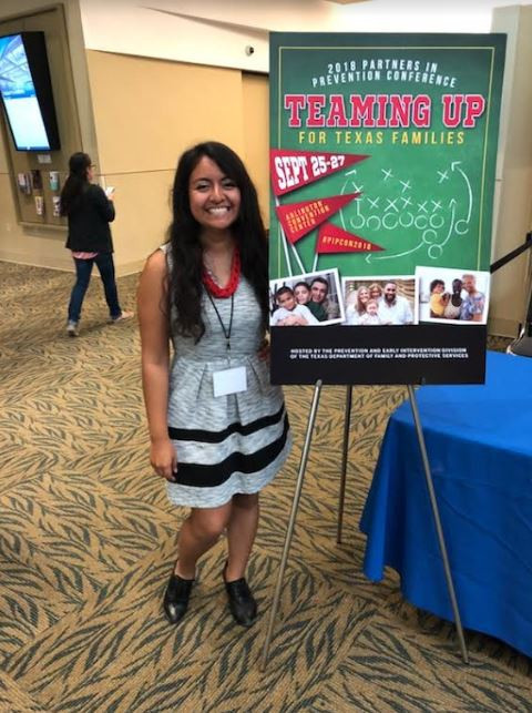 Diana at 2018 PIP Conference in Arlington, TX