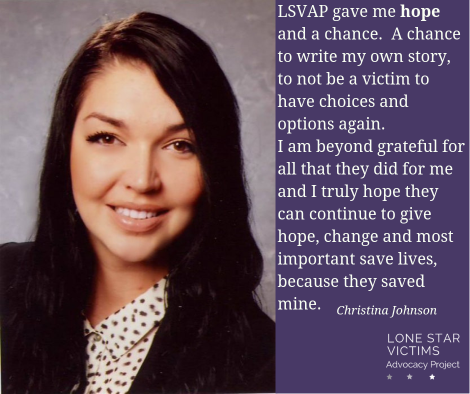 LSVAP has over 1600 clients like Christina