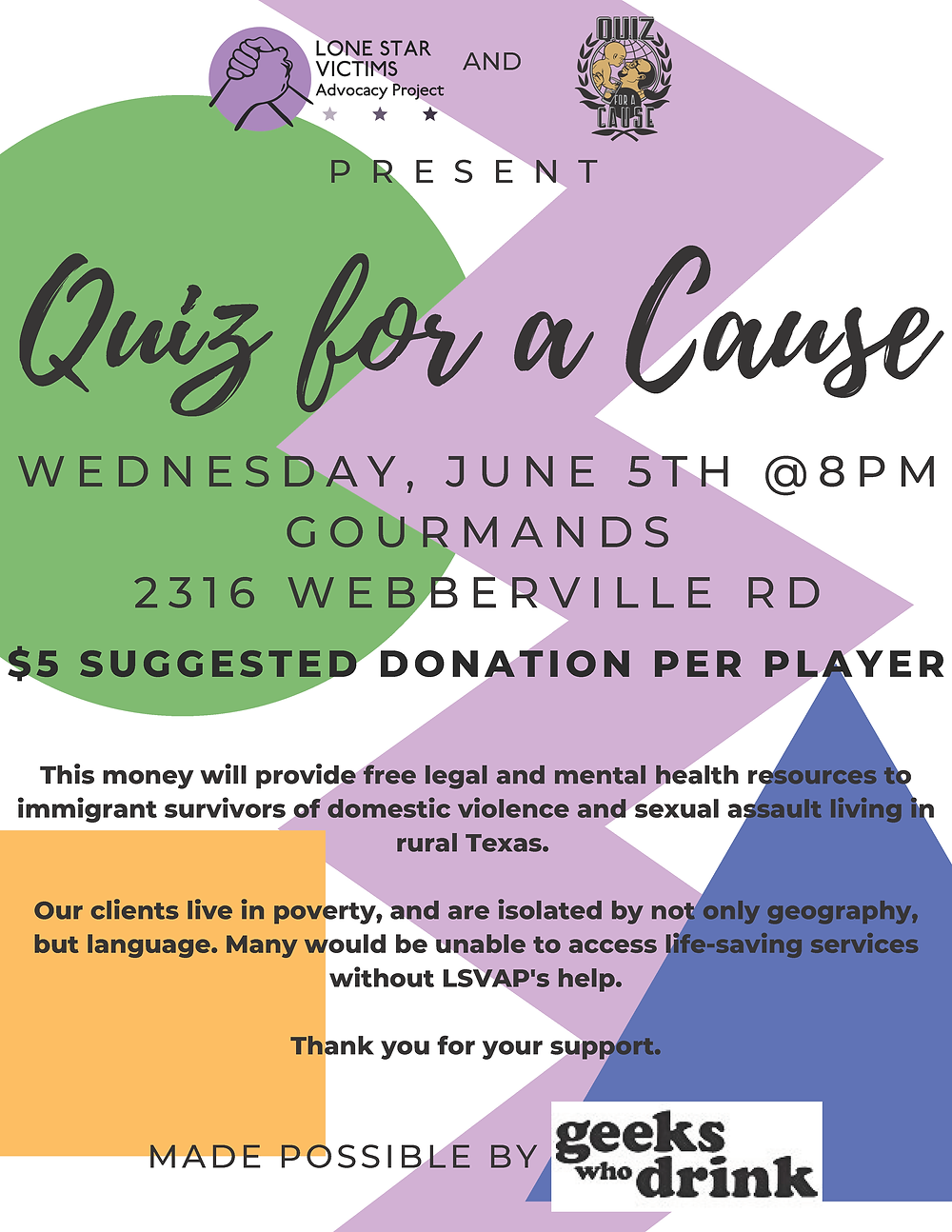 Quiz for a Cause
