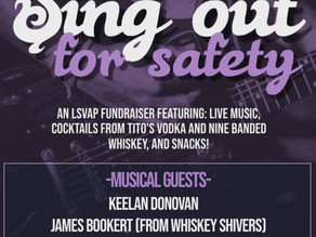 Join Us at Sing Out for Safety, an Anniversary Fundraiser!
