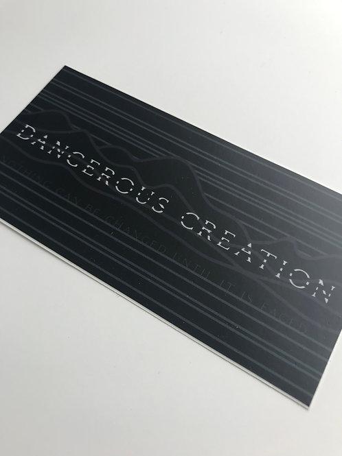 Dangerous Creation Sticker 1