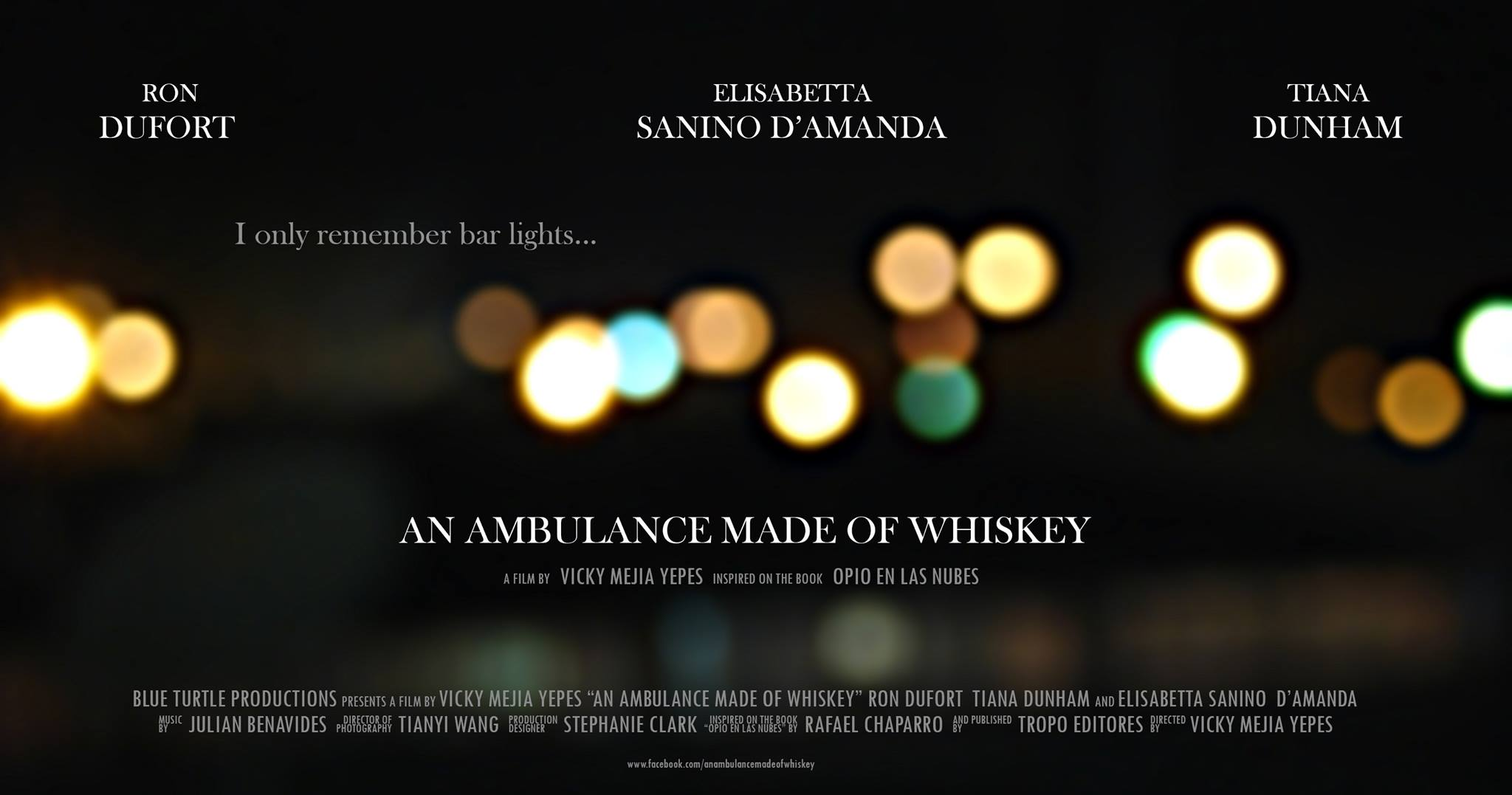 An Ambulance made of Whiskey