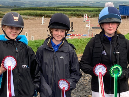 Success for our show jumpers