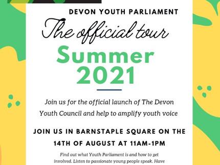 Devon Youth Parliament event