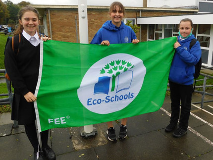 Green flag for Eco Club