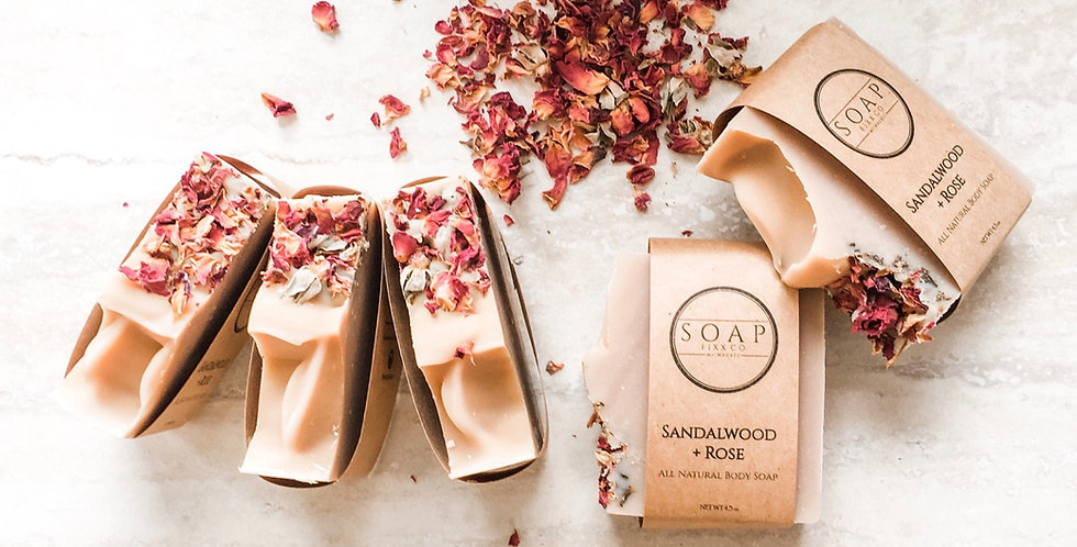 Sandalwood + Rose