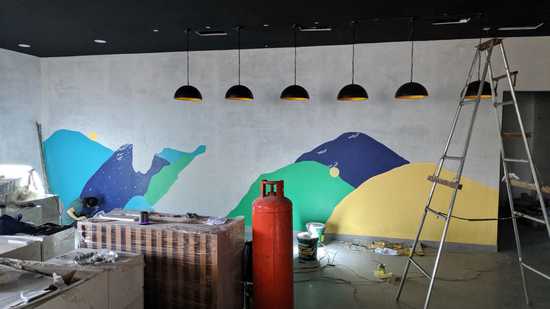 Mural 3: Hanayo Korean Restaurant