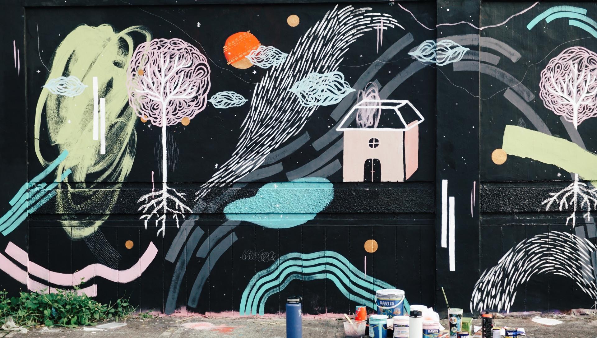 Mural 1: Anna x Yana x Ana