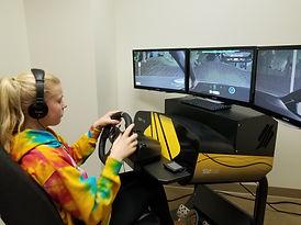 Sorelle on simulator.jpg