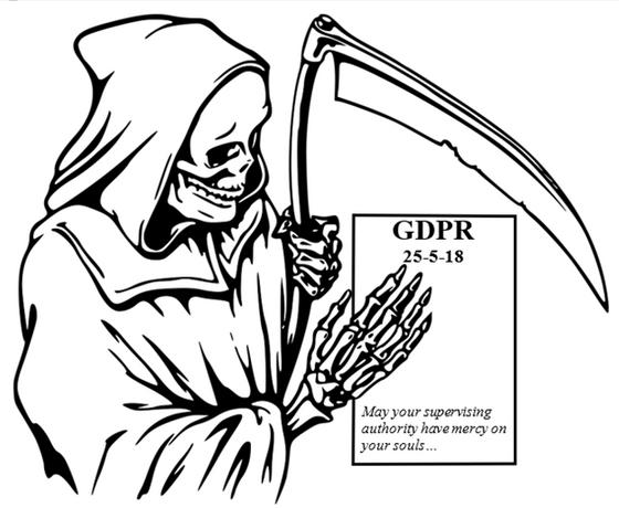 The GDPR cometh...
