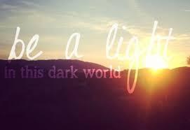 God's light...