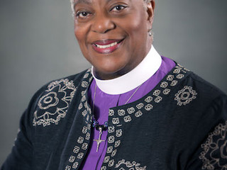 Installation of our new Bishop Davenport!