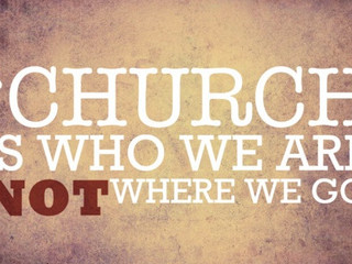 You are the church!