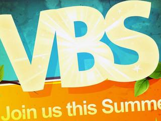Vacation Bible School begins!