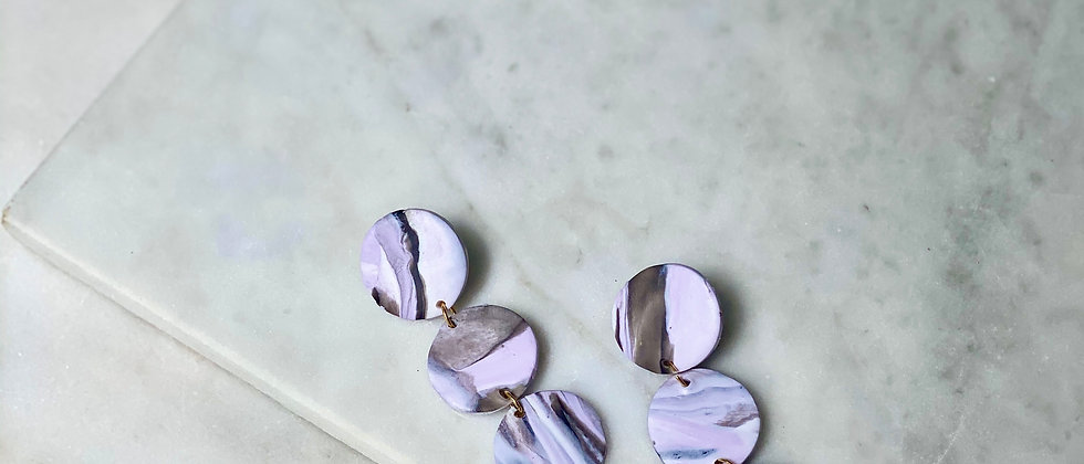The Margo in Marbled Lavender