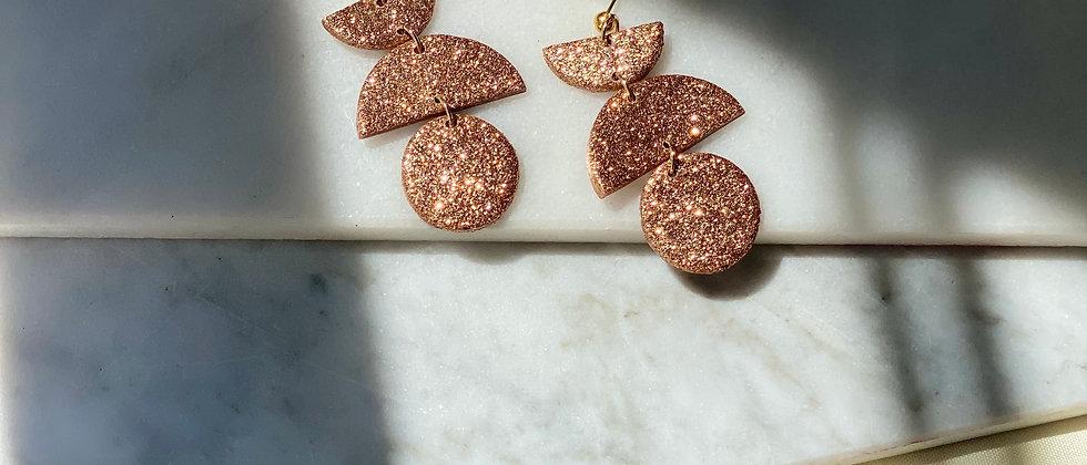 The Blythe in Rose Gold Glitter