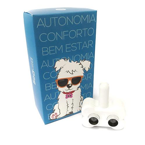 Coleira Para Cães Cegos - Branca