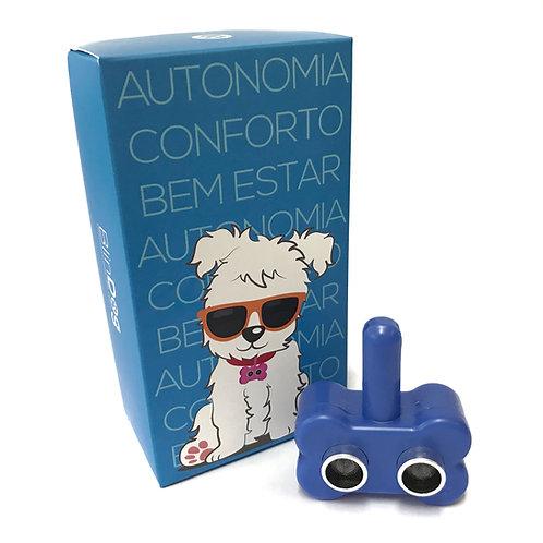 Coleira Para Cães Cegos - Azul