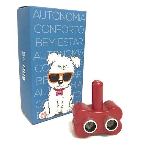 Coleira Para Cães Cegos - Vermelho