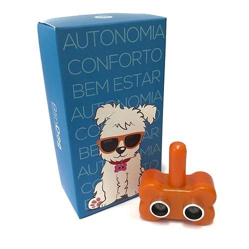 Coleira Para Cães Cegos - Laranja