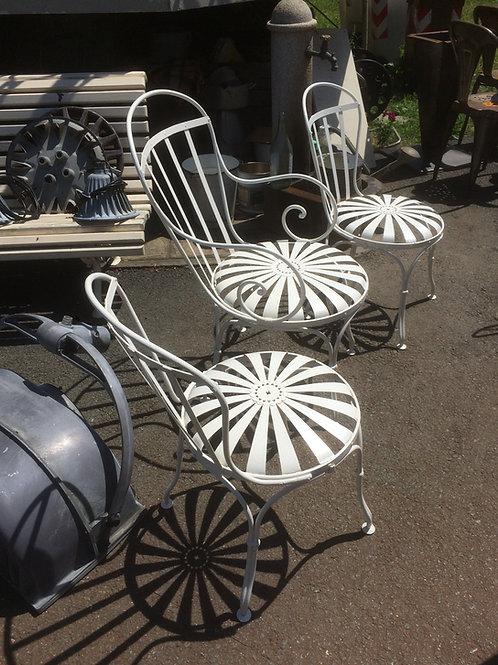 Poltrona e sedie da giardino