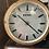 Thumbnail: Orologio insegna in metallo e vetro