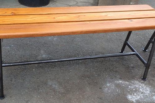Panchine da palestra in ferro e legno