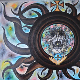 The Dark Side of the Monstrance 140 x 17