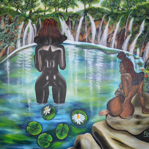 Tribal Bath 210 x 175 cm (3) - Copy - Co