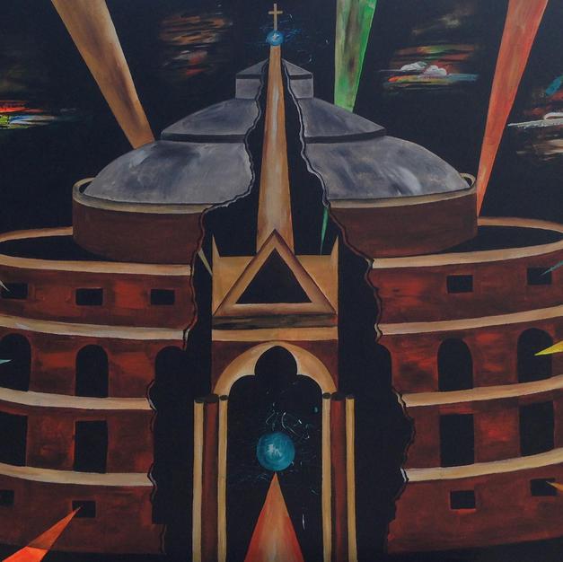 The Royal Albert Hall 100 x 75 cm - Copy