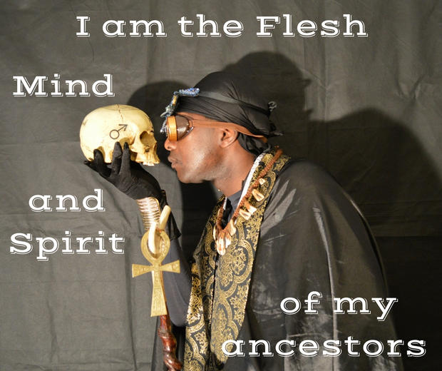 I am the flesh, mind and spirit of my an