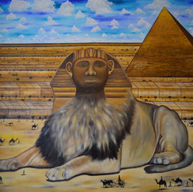 The  Reminder of Birth Rite - the Lion o