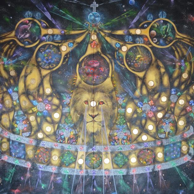 Thy Kingdom Come 170 x 250 cm - Copy - C