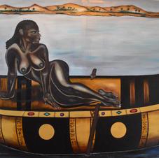 Egyptian Pirogue 170x90cm.JPG