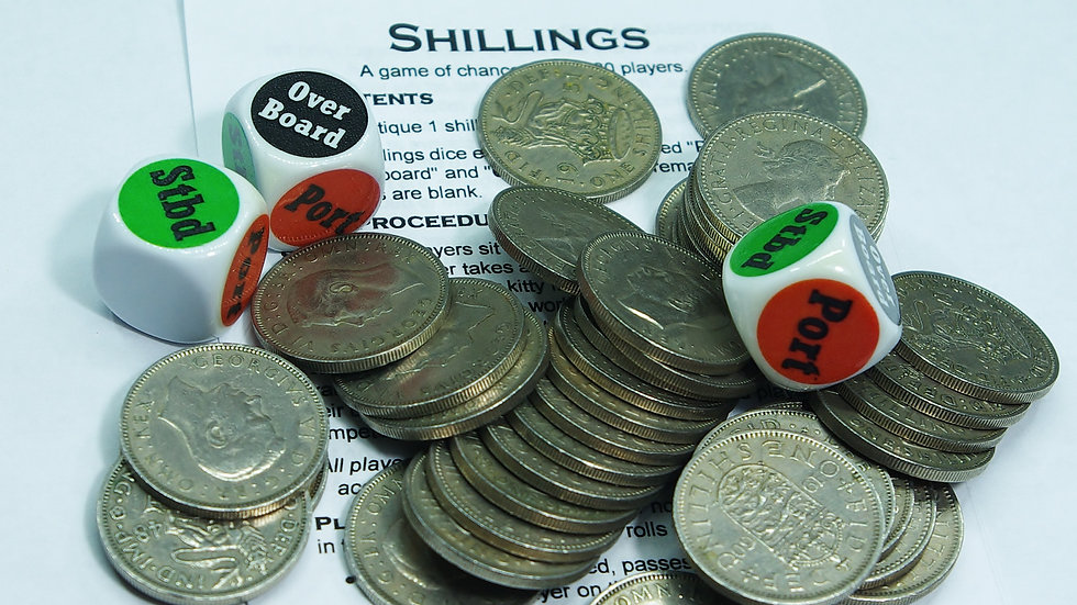 Shillings - Dice Game