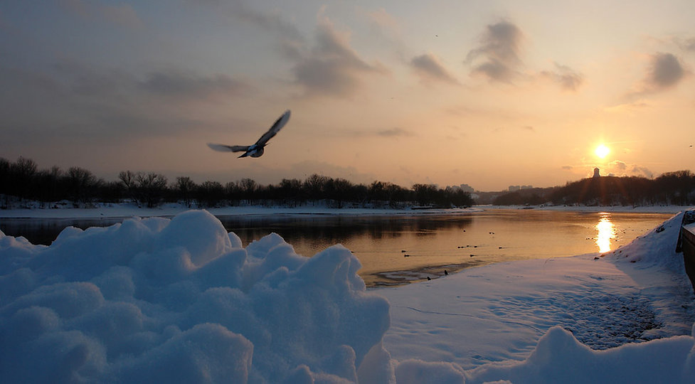 Коломенское, зима