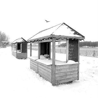 парк Коломенское, зима