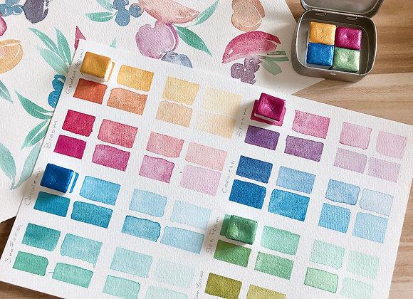 Sea of Colours Palette