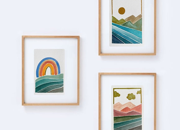 A6 Original Paintings (Magic Scapes)
