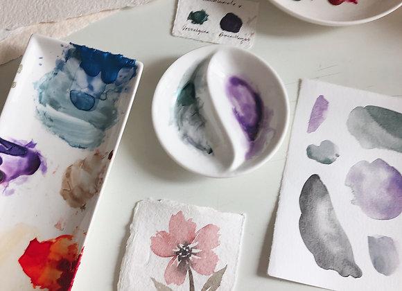 Ceramic artist palette