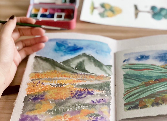 Colourful Therapeutic Landscapes Workshop