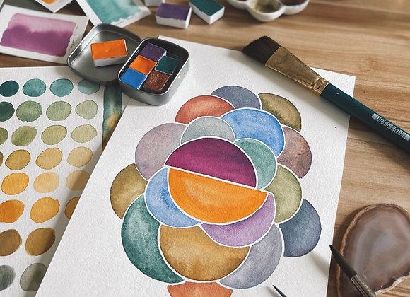 The Tropics Palette (+ watercolour class)