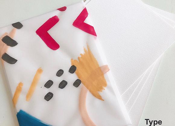 Watercolour Paper (A5 size)