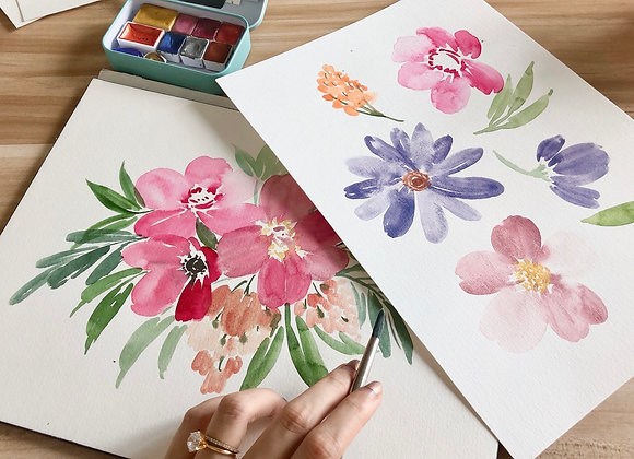 Intro to Floral Watercolour