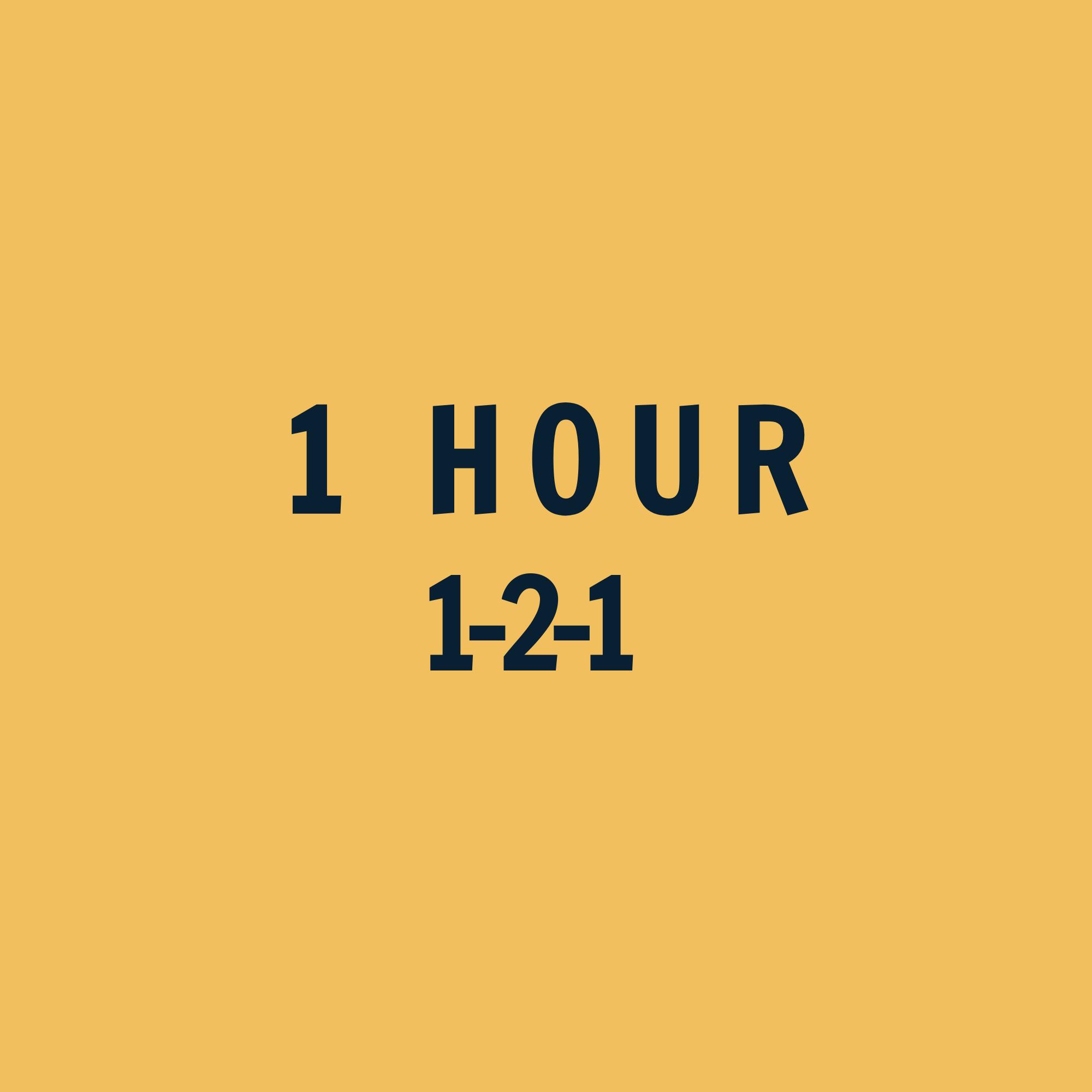 1-2-1 Coaching 1 Hour ($)