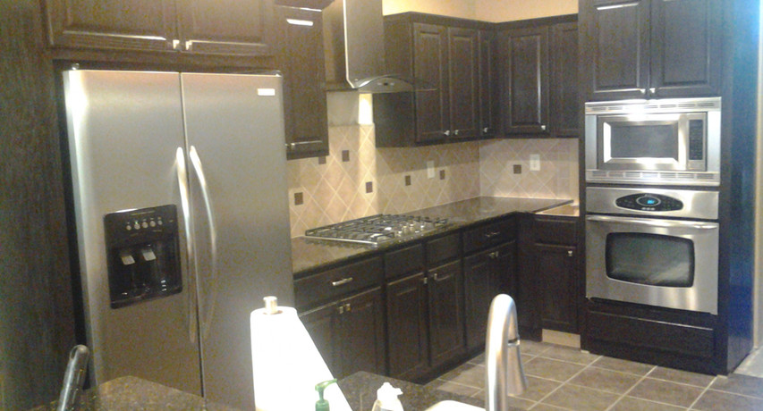 After Kitchen Cabinet Install