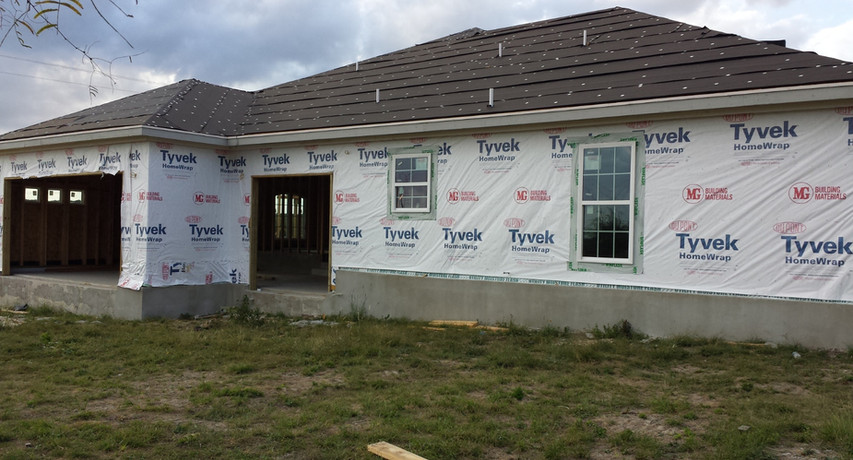 Custom Home build- Dry End Phase Construction