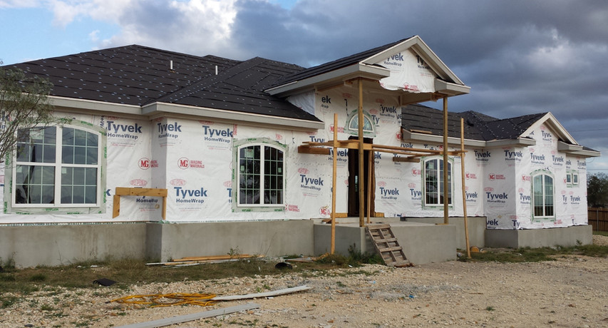 Mountain Laurel Lane Dry End Phase Construction