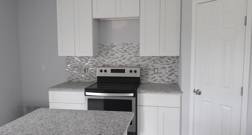 Custom Home Kitchen finished