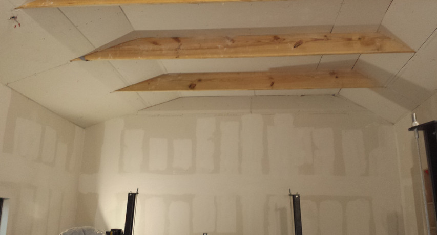Drywall Install Before